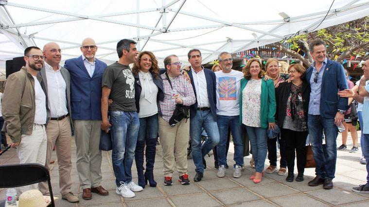 Los actores de 'Campeones' visitan el centro Hermano Pedro gestionado por Grupo 5
