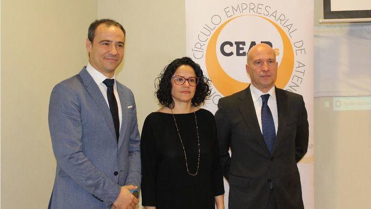 Diego Juez, Cinta Pascual y Javier Gómez de CEAPs