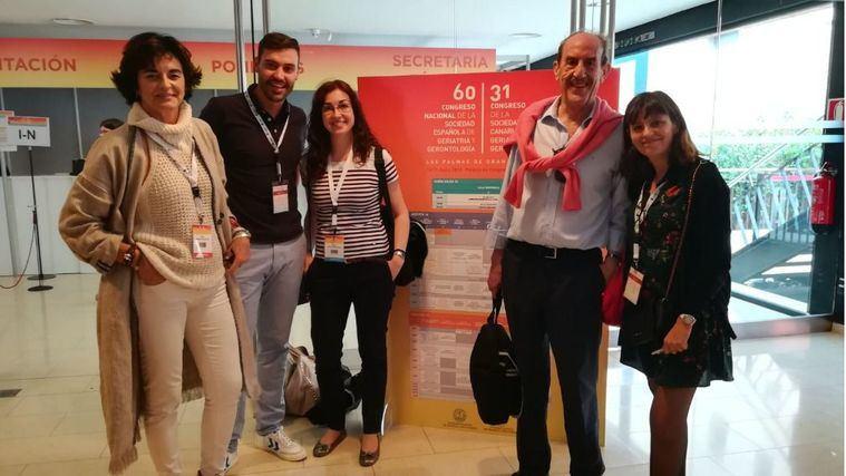 Amavir habla de sujeciones y la satisfacción de los profesionales en el congreso de la SEGG