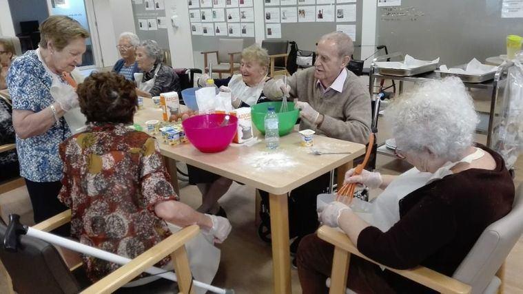 Les Masies de Mollet buscan el bienestar social y emocional de sus mayores a través del pan de pellizco