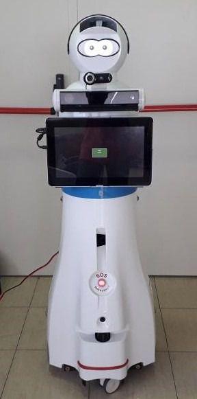 Robot Roni de Ilunion Sociosanitario.
