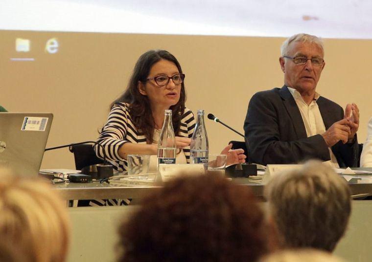 Mónica Oltra, responsable de Políticas Sociales y Vicepresidenta de la Comunidad Valenciana.