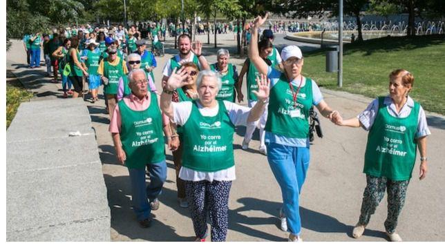 Más de 12.000 participantes suman 100.000 kilómetros por el Alzheimer