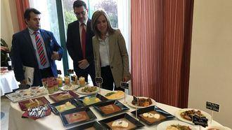 Comida texturizada en una residencia ORPEA en Madrid.
