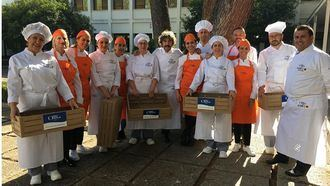 Finalistas del III Torneo ORPEA de Cocina