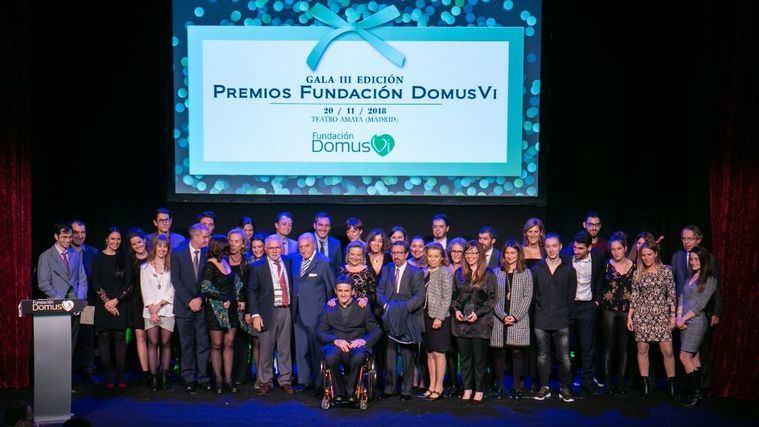 La Fundación DomusVi premia iniciativas que mejoran la calidad de vida de los mayores