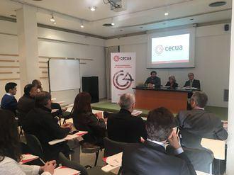 CECUA en una reunión con empresarios en Córdoba.