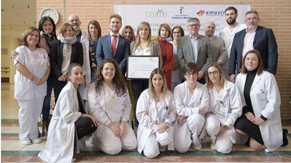 """La residencia Las Hazas (Hellín), primer centro en Castilla-La Mancha """"Libre de Sujeciones"""" con la acreditación de CEOMA"""