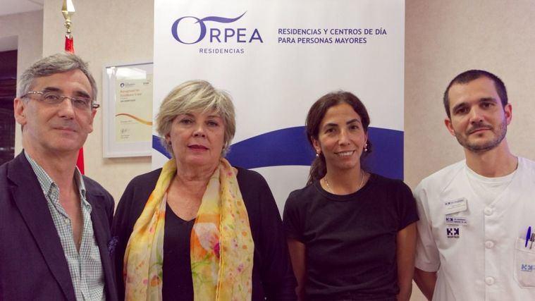 Cátedra Orpea: la fisioterapia respiratoria mejora la calidad de vida de las personas mayores