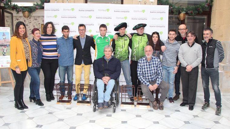 DomusVi Ribera acoge los premios PARA TOD@S organizados por el medallista paralímpico Javi Conde