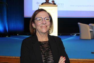 La directora general del Imserso, Carmen Orte