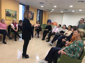 Visita de profesionales suecos de la residencia Siggebogardens a los centros L´Onada
