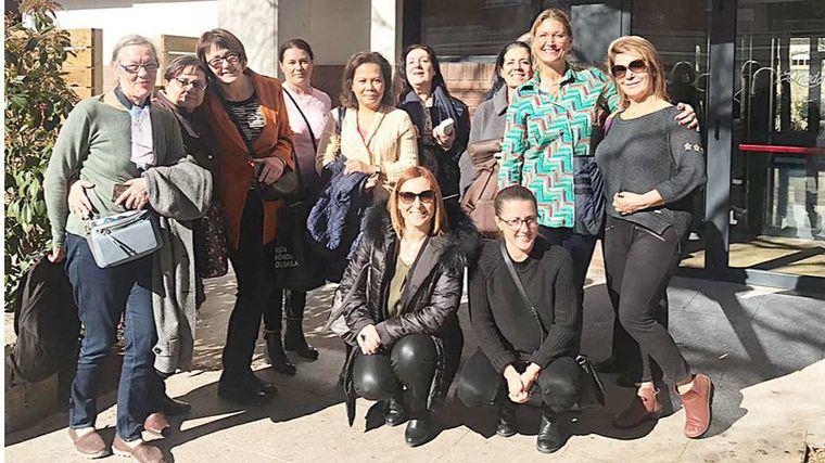Visita de profesionales suevos de la residencia Siggebogardens a los centros L´Onada