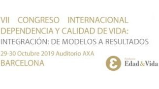 Barcelona acogerá en octubre el VII Congreso Internacional de Dependencia y Calidad de Vida