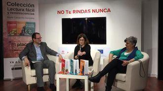 Nuria Carcavilla presenta la colección Lectura fácil y reminiscencias.