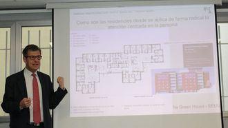 El director de Inforesidencias, Josep de Martí,  en el Seminario de Inforesidencias Arquitectura y ACP