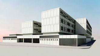 La nueva residencia asistida que L'Onada Serveis gestionará en la ciudad castellonense de Vinaròs.