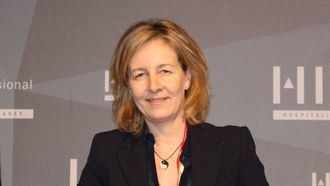 La vicepresidenta de AESTE, Natalia Roldán