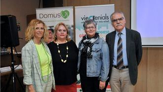 Jornada DomusVi sobre la mujer en Sevilla.