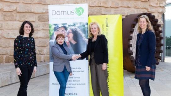 DomusVi en Baleares y el Museo Es Baluard seguirán promocionando actividades culturales para los mayores