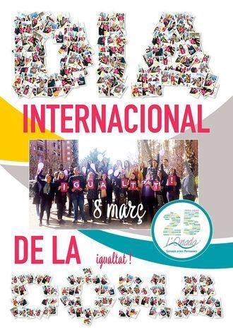 Cartel del Día de la Igualdad en L´Onada Serveis