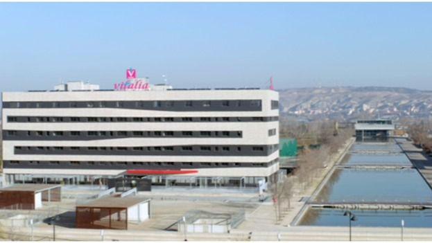 Presentación de Vitalia Expo en Zaragoza, un centro con 229 plazas residenciales y 30 de estancias diurnas