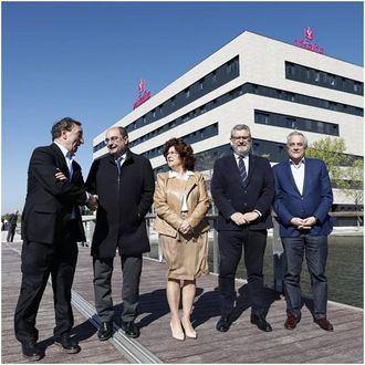 Presentación de Vitalia Expo en Zaragoza