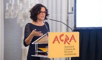 El presidenta de ACRA, Cinta pascual.
