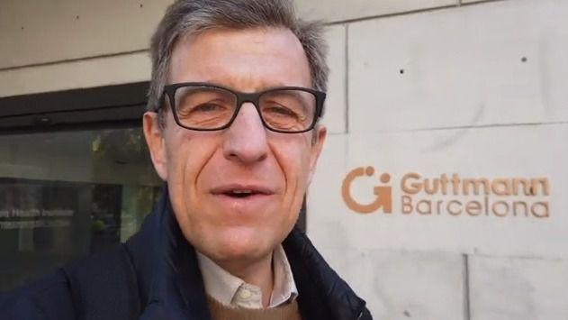Josep de Martí en el Institut Guttmann