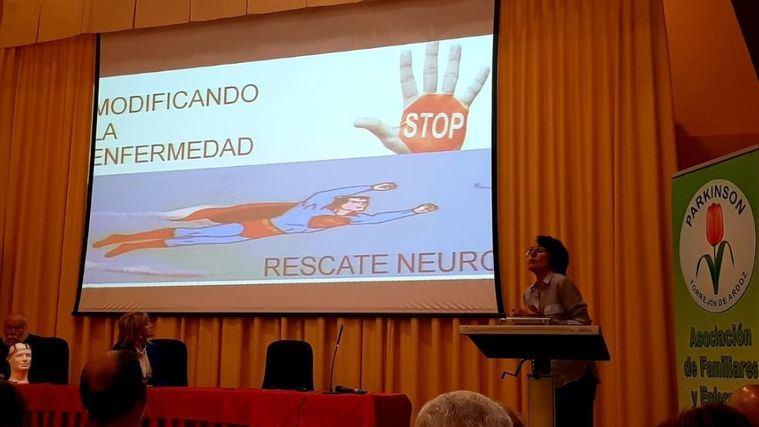 Amavir colabora en los actos del Día Mundial del Parkinson de la asociación de Torrejón de Ardoz