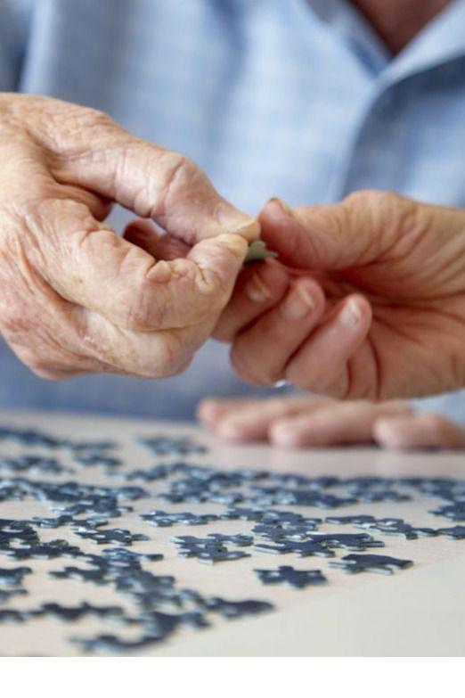 Los puzles son una buena herramienta para tratar demencias.