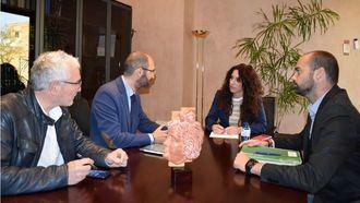 Reunión de la Junta de Andalucía con CECUA.