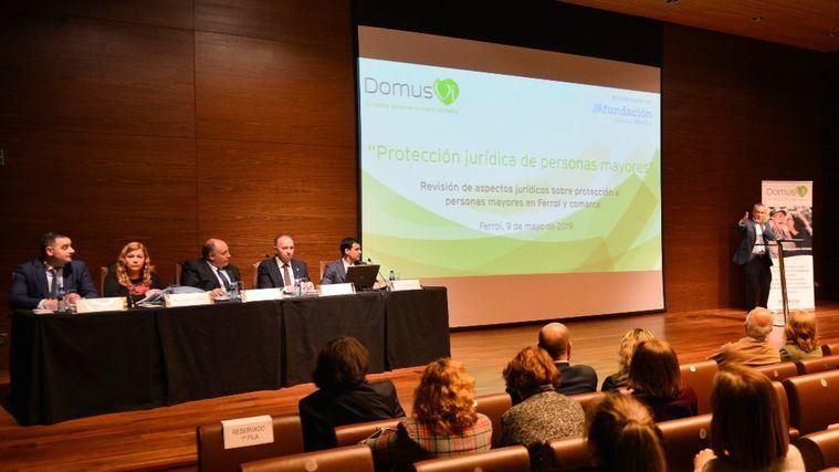 DomusVi reúne en Ferrol a expertos en derechos de las personas mayores.