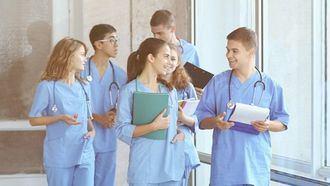 Grupo de enfermeros.