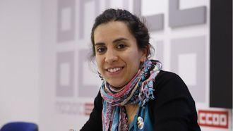 la secretaria confederal de Política Social de CCOO, Paula Guisande.