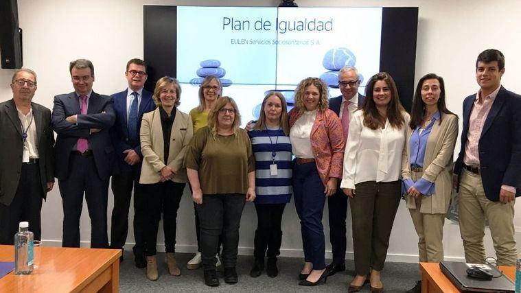 EULEN Servicios Sociosanitarios firma un Plan de Igualdad que