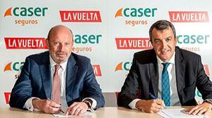 Caser, patrocinador oficial de La Vuelta Ciclista durante los próximos tres años