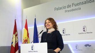 La consejera de Bienestar Social en funciones, Aurelia Sánchez.