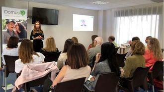 DomusVi Ciudad de las Artes celebra una jornada de coaching para profesionales que trabajan para personas
