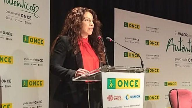 la consejera de Igualdad, Políticas Sociales y Conciliación en Andalucía, Rocío Ruiz.