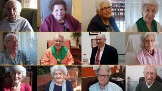 Homenaje de Firagran a las personas de 90 años o más que trabajan con entidades de mayores.