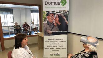 DomusVi ha incorporado la realidad virtual a sus terapias