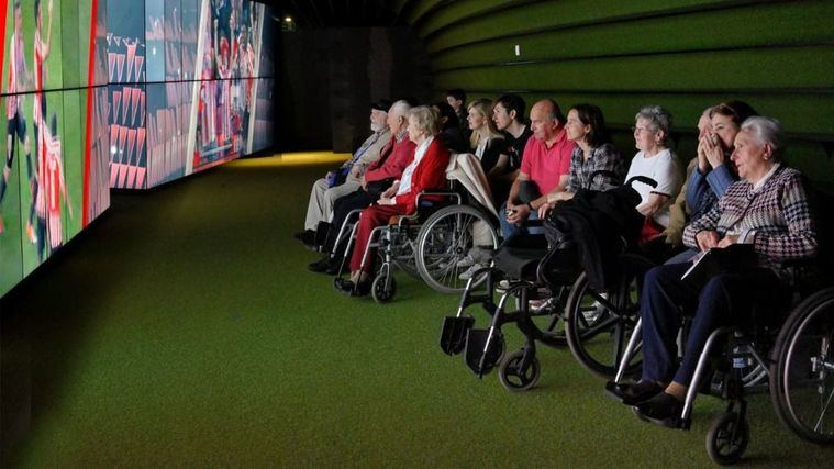 DomusVi clausura sus talleres de reminiscencia contra el deterioro cognitivo a través del fútbol
