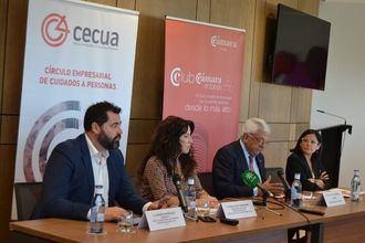 Andrés Rodríguez, Rocío Ruiz, Francisco Herrero y Cinta Pascual.