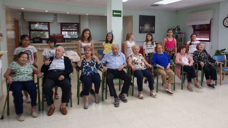 Usuarios del Centro Retiro gestionado por DomusVi