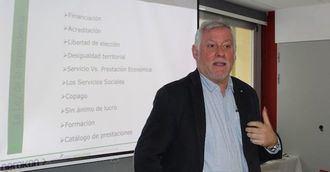 Aitor Pérez Artetxe, consultor gerontológico.
