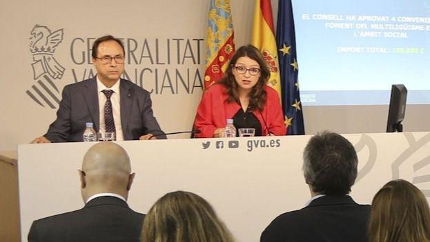 Mónica Oltra, consellera de Igual en la Comunidad Valenciana.