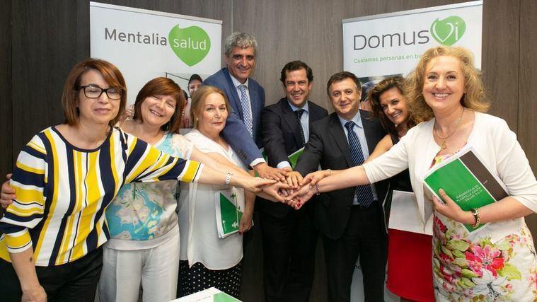 DomusVi amplía su compromiso con la igualdad firmando con los sindicatos mayoritarios sendos planes para las divisiones de salud mental y dependencia