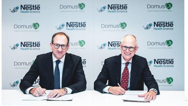 DomusVi y Nestlé renuevan su colaboración en materia de nutrición para mejorar la calidad de vida de los residentes