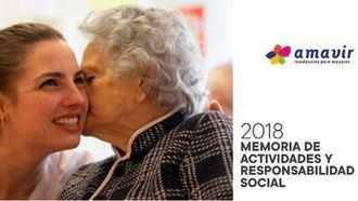 Memoria de Actividades y Responsabilidad Social de Amavir en 2018